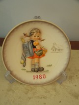 M. I. HUMMEL – 1980 Annual Plate, School Girl, HUM 273  Collectors Plate NEW  - $117.81
