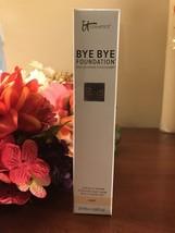 SEALED TOP & Bottom IT Cosmetics BYE BYE FOUNDATION **LIGHT ** Full Size... - $52.46
