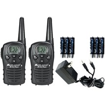 Midland LXT118VP 18-Mile GMRS Radio Pair Value Pack with Charger & Recha... - $52.42