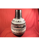 """12"""" Tall Native American Pottery Jug. Signed - $39.99"""