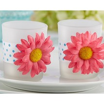 Daisy Delight Gerbera Daisy Tealight Holder (pack of 48) - $176.79