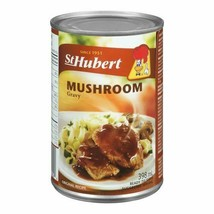 12 Pack St Hubert Mushroom Gravy 398ml Each Can - From Canada Fresh & Delicious! - $44.50