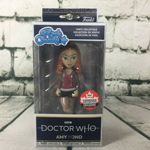 2018 Canada Convention Exclusive Funko Rock Candy Doctor Who Amy Pond Figure - $14.80