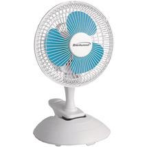 """Brentwood Koolzone 6"""" Convertible Clip Desk Fan - $12.47+"""
