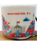 Starbucks 2016 You Are Here Washington, DC Mini 2 oz Mug Ornament New In... - $28.95