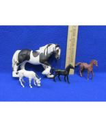 2003 Appaloosa Pinto Horse Stallion Plastic Figure Schleigh Germany Mini... - $9.89