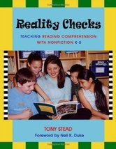 Reality Checks: Teaching Reading Comprehension with Nonfiction, K-5 [Perfect Pap image 1