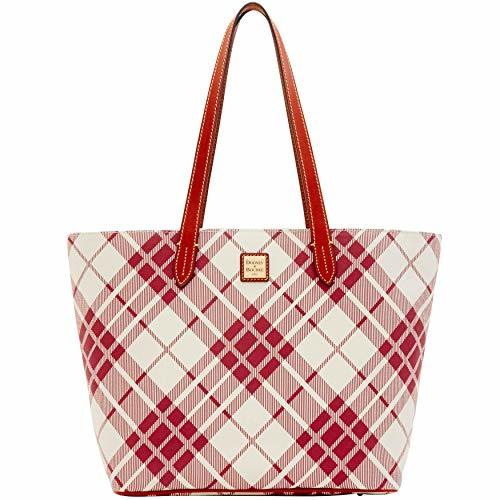 Dooney & Bourke Harding Large Zip Shopper Tote Cranberry