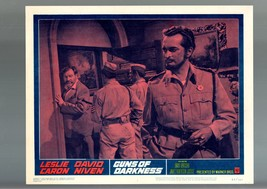 GUNS OF DARKNESS-1962-LOBBY CARD-VF-DRAMA-JAMES ROBERTSON JUSTICE VF - $20.08
