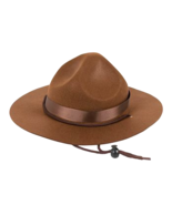 Boys Brown Mountie Cowboy Hat MSRP $30.00 YOU SAVE $8.00 - $22.00
