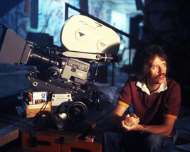 John Carpenter Escape From New York On Set Directing By Camera 16x20 Canvas Gicl - $69.99