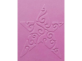 Sizzix Metal Embossing Plate, Star #2 #38-9578 image 2