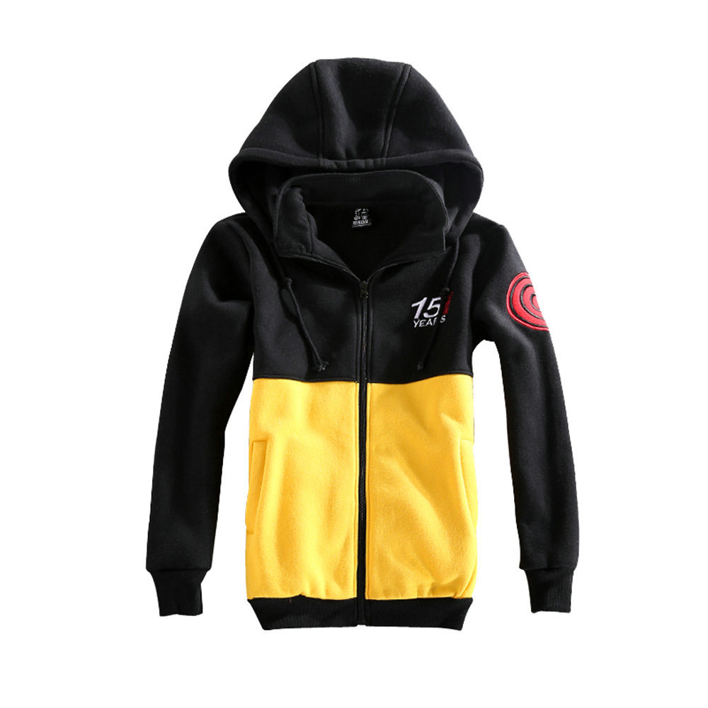 Naruto Uzumaki Cosplay Sportswear Hoodie Naruto Coat