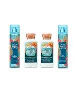 4 Piece Bath & Body Works Whipped Vanilla & Spice Body Lotion & Fragrance Mist - $32.50