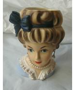 Brinn's Head Vase Headvase marked T-1576 is 5 1/2 inches tall - $99.00