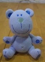 "Koala Baby Blue Bear Rattle 5"" Plush Stuffed Animal Toy - $14.85"