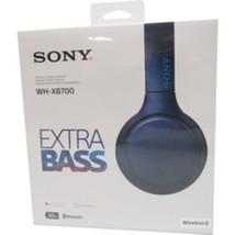 SONY WH-XB700/L Extra Bass Wireless On-Ear Headphones - Bluetooth - NFC ... - $129.99