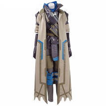OW Ana Armor Cosplay Costume New Woman Hero Battle Suit Halloween Uniform - $158.00