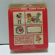 With Love From Mary Engelbreit All Night Media Rubber Stamps - $12.19