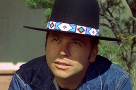 Tom Laughlin in Billy Jack cool portrait in black stetson 18x24 Poster - $23.99