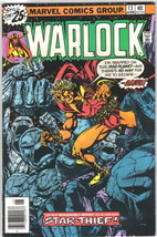 Warlock Comic Book #13 Marvel Comics 1976 VERY FINE- - $14.49