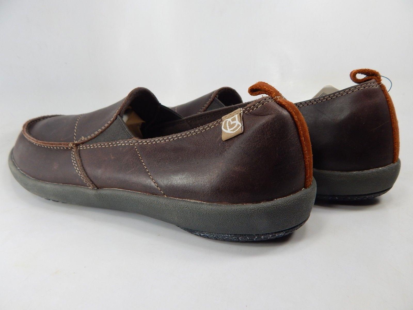 Spenco Siesta Size US 9 M (D) EU 42.5 Men's Slip On Leather Casual Loafer Brown