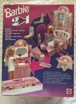 1993 BARBIE MATTEL - 2 in 1: Bed & Bath - New and sealed - $111.85