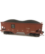 HO Scale - Bowser BOW41128 HO GLa 2-Bay Hopper BR&P #14451/Mineral Red - $24.74