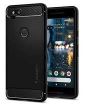 Rugged Armor Google Pixel 2 Case with Resilient Shock Absorption Black - $26.04
