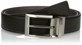 Calvin Klein Men's 35mm Reversible Genuine Leather Harness Buckle Belt 7538796 image 6