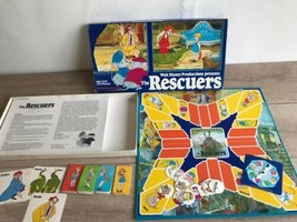 The Rescuers 1977 Walt Disney Parker Brothers Board Game Not Complete  - $19.79