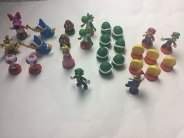 Super Mario Brothers Chess Pieces Nintendo Replacement Parts Cake Topper - $18.69