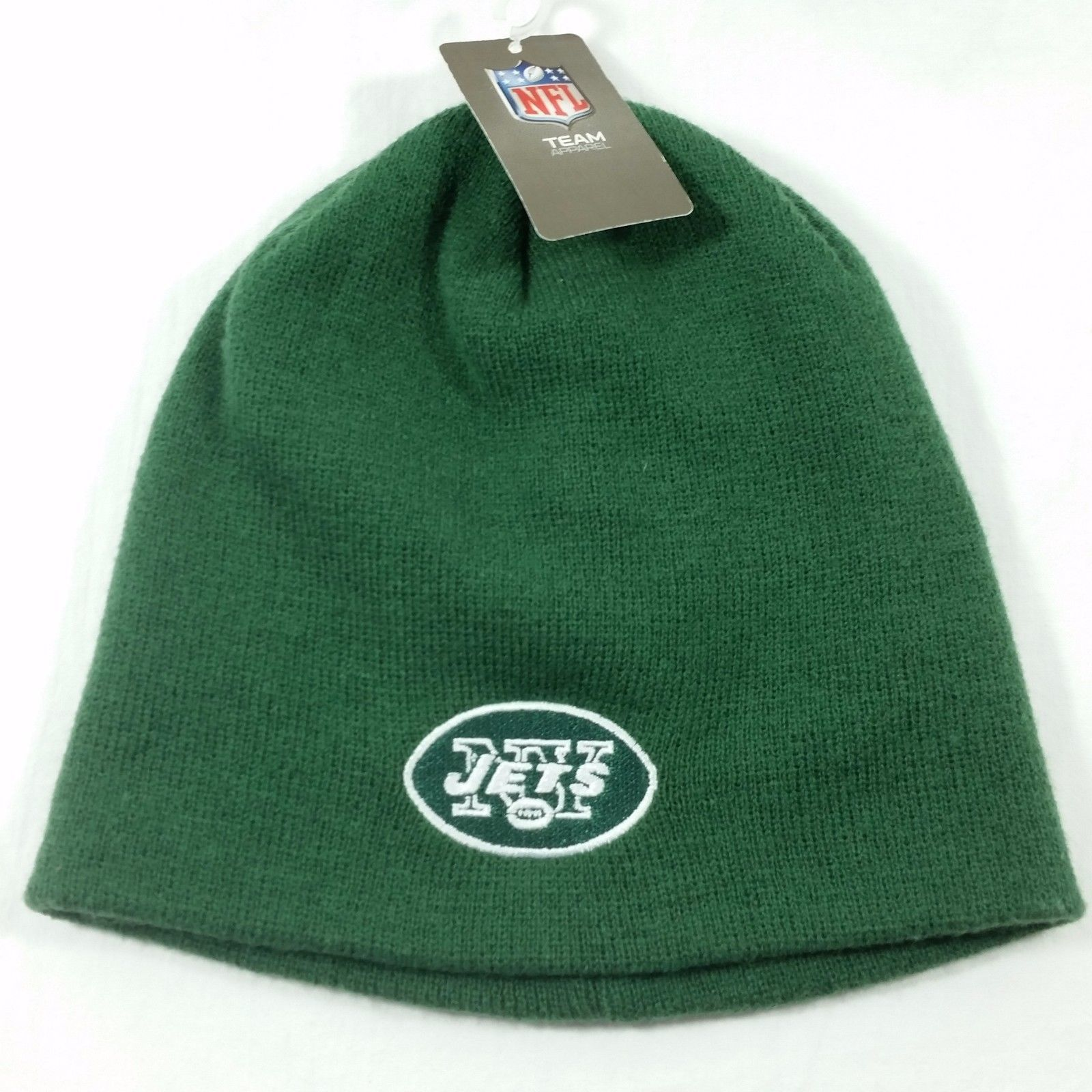 9201db3be31 New York Jets Green Knit Beanie NFL Reebok and 50 similar items