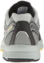 Saucony Uomo Nero/Grigio/Giallo Cohesion 10 Corsa Runners Scarpe Sneaker Nib image 4