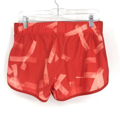 Adidas Donna Activewear Pantaloncini Corsa Misura Piccolo 3 'Rosso Stampa Tirare image 2