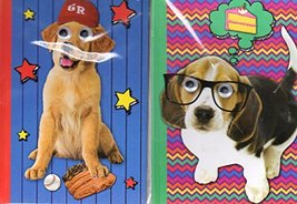 Hardcover Executive Notebooks - Puppy Dog Journal Set: 2 Dog Journals - ... - $7.13