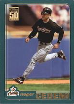 2001 Topps Baseball Base Singles #3-111 (Pick Your Cards) - $0.99