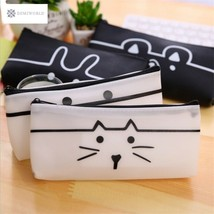 kawaii Cartoon panda Pencil Case cat School Supplies Stationery Gift Est... - $5.70
