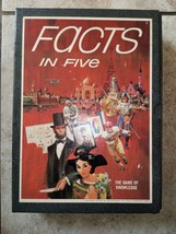 Facts in five board game vintage 1967 (complete) great shape - $25.73
