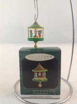 1997 Hallmark Keepsake Miniature Santa's Little Big Top Christmas Ornament - $4.99