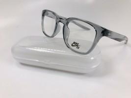 New NIKE NK7114 060 Wolf Grey Eyeglasses  48mm with NIKE Case & Cloth - $69.25