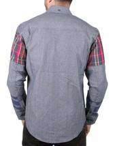 Staple Men's Indigo Stormking Woven Button Up Shirt 1510W2961 NWT image 2