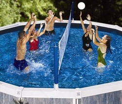 Swimline Cross Pool Volly Above ground Vollyball Game - $45.41