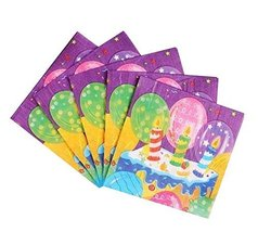 Beautiful Printed Paper Napkins Disposable Party Serviettes 3 Packs - $13.40
