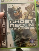 Tom Clancy's Ghost Recon: Advanced Warfighter (Microsoft Xbox 360, 2006) - $2.72
