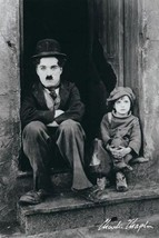 CHARLIE CHAPLIN POSTER - THE KID FAMOUS SHOT - 24X36 - $23.00