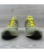 Nike Flyknit Trainer Running Shoes Size 10 Cargo Khaki Black Yellow AH83... - $59.35