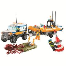 Coast Guard 4 x 4 Response Unit building blocks compatible with LEGO - $54.90
