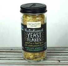 Yeast Flakes Frontier Natural Products Nutritional Recipe Topping 0.81oz... - $11.44