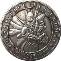 Rare New Hobo Nickel 1885 Morgan Dollar Batman Superhero Marvel Casted Coin - $11.99